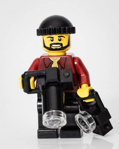 Graham Baker - My Lego Alta Ego