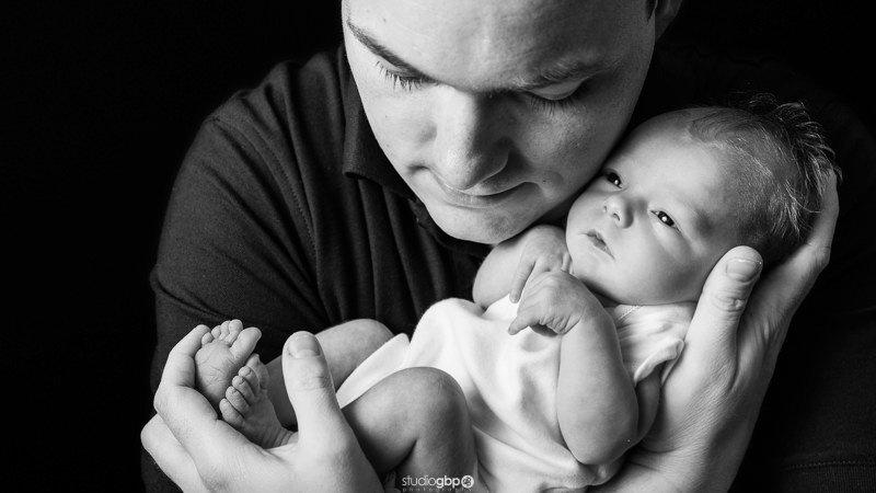 Family Newborn Baby Portrait Session